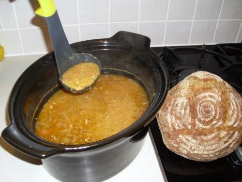 Swedish Lentil Soup 003a