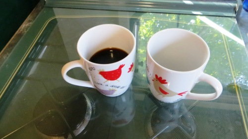 And you're left with enough smooth tasty strong coffee for two.
