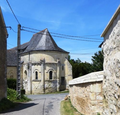 The Carolingian sanctuary of the Vieux-Cravant, now a museum.