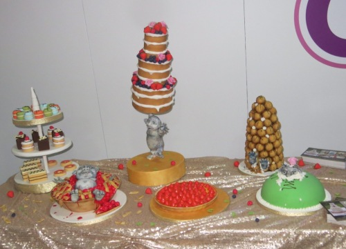We loved the trolls. We weren't sure whether all the cakes were Scandinavian, but some at least were!