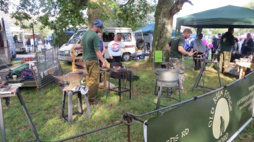 The blacksmiths were there again this year ...