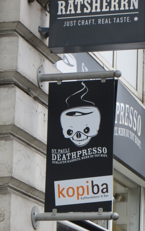 And where better than Deathpresso for a heart-starter?