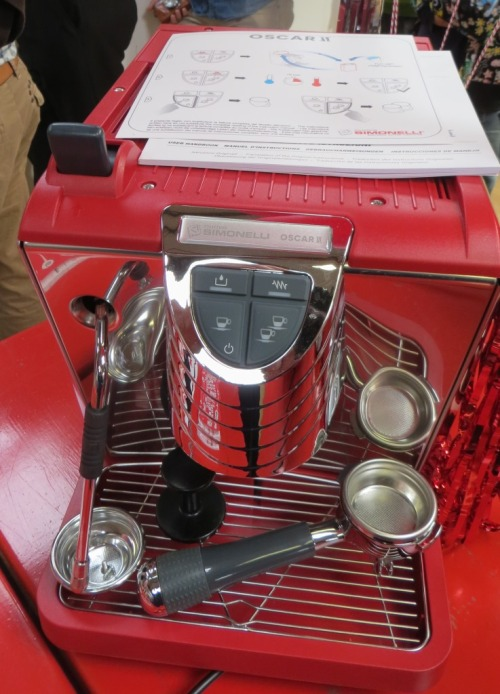 On the other hand, this Simonelli Oscar II might be within reach ...