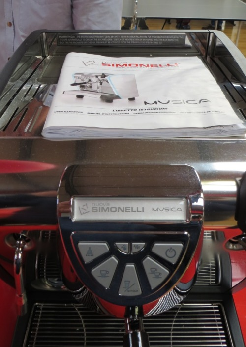... or even the gorgeous Simonelli Musica.