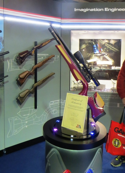 THis Air Arms special edition is really for collectors, not for actual use.  It's over £2,000!